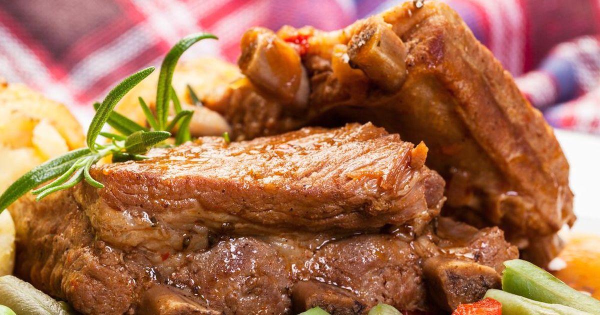 Любимое блюдо мужчин — ребрышки по-польски