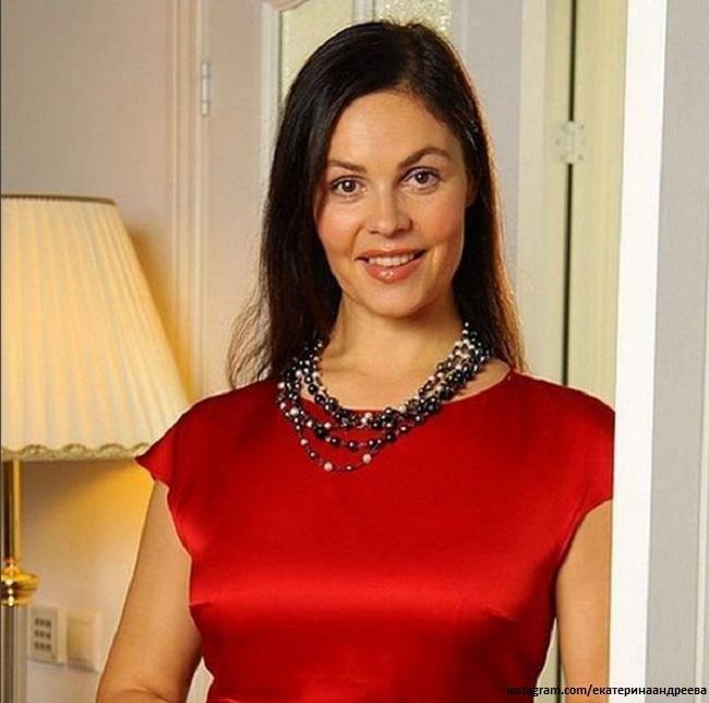 Екатерина Андреева рассказала свой секрет стройности