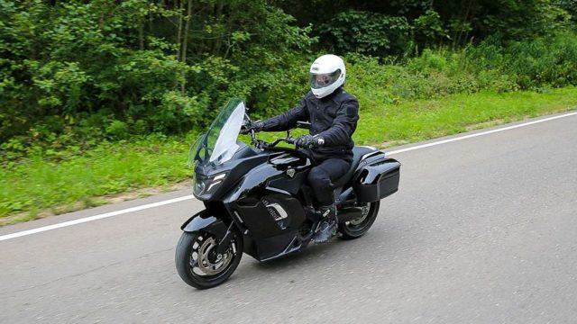 Русский электромотоцикл Aurus. Сделан для кортежа Путина, но купить сможет каждый