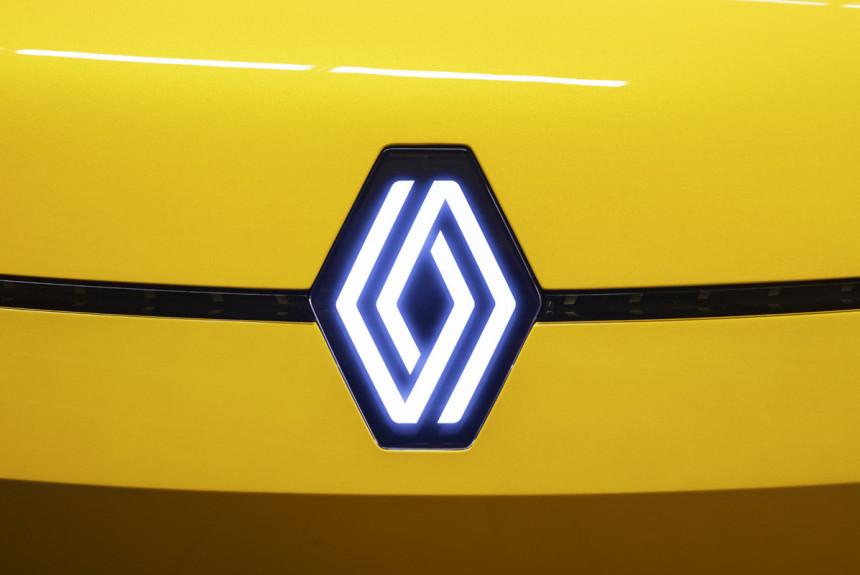 У компании Renault новый логотип